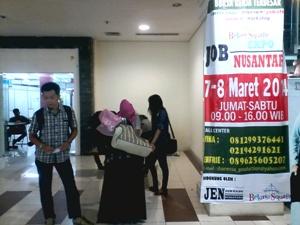 40 perusahaan Warnai Job Fair Jen Job Expo Nusantara Di Bekasi
