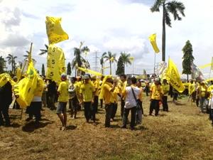 Golkar Kampanye di Lapangan Vip Bekasi Utara