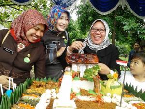 Canting Batik Dan Lomba Tumpeng Ikut Meriahkan Hut Kota Bekasi Ke 17