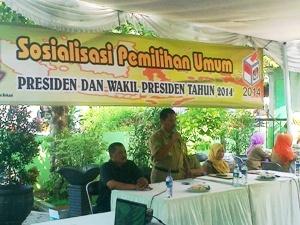 Kecamatan Medan Satria Gelar Sosialisasi Pilpres