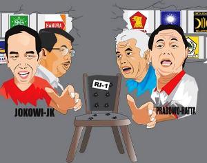 DPD Gerindra Jawa Barat Klaim Prabowo Subianto-Hatta Rajasa Menang Telak