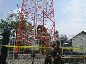 Pemkot Bekasi kembali Segel dua Tower Ilegal