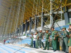 Akibat Kelalaian, Stadion Bekasi Terancam MangkrakAkibat Kelalaian, Stadion Bekasi Terancam Mangkrak