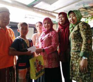 Kelurahan Medan Satria Santuni Puluhan Yatim Piatu