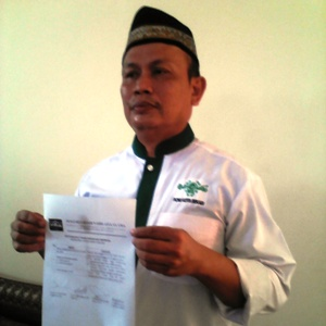 KH. Zamaksyari Ngeyel Pimpin PCNU kota Bekasi