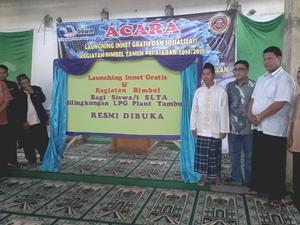 """PT BBWM  Launching Innet Gratis """"Sekolah Harus Melek Internet """""""