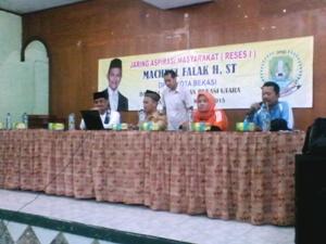 Jaring Aspirasi, DPRD Fraksi Golkar Reses Di Kecamatan Bekasi Utara