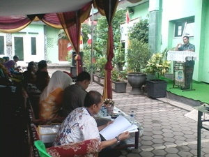 Pencapaian Maksimal lomba kinerja di Kelurahan Kalibaru
