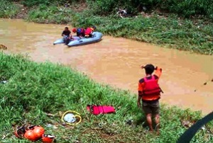 Siswa SMPN 7 Kayu Ringin Tewas Di Sungai Cikeas