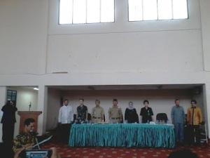 Walikota Bekasi Menghadiri Halal Bihalal Di Asrama Haji