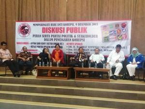 IFC Giat Diskusi Publik Hari Anti Korupsi