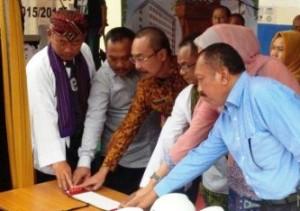 Walikota Bekasi Resmikan Tiang Pancang  Gedung Baru RSUD