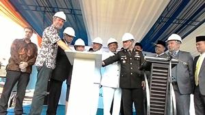 Walikota Bekasi Buka Ground Breaking Pembangunan Instalansi Pengelolaan Air (IPA) Teluk Buyung