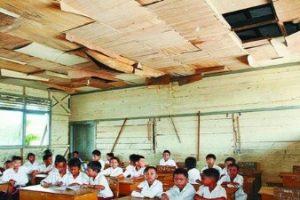 Miriiss, Masih Banyak Ruang Kelas Sekolah Rusak Di Kota Bekasi