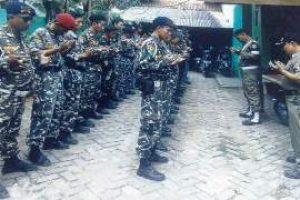 GP Ansor dan Banser Kota Bekasi Gelar Apel Kesetian Pancasila