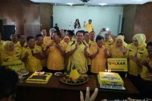 Heri Suko : HUT Partai Golkar 53 Momentun Menggalang kekuatan Partai Golkar Kota Bekasi