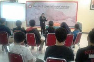 RS. Mekar Sari Berikan Pelatihan BHD kepada Jurnalis Bekasi