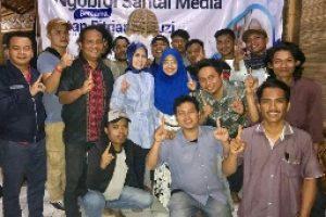 Jalin Silaturrahmi,Intan Fitriana Fauzi Ngobrol Santai Bareng Media