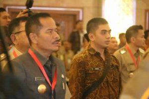 Jelang Pilkada Serentak 2018,Pjs Walikota Bekasi Ikuti Rakornas