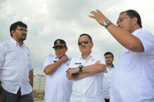 Pjs Wali Kota Bekasi Tinjau Folder Penampungan Air Rawa Pasung