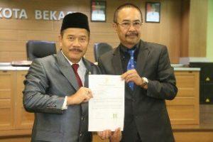Rayendra Sukarmadji ditunjuk Sebagai Pelaksana Harian Wali Kota Bekasi