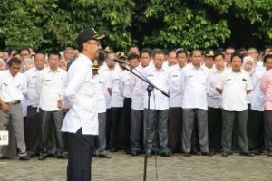Plh. Wali Kota Bekasi Tegaskan Kedisiplinan ASN Pemkot Bekasi