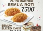Breadtalk Indonesia Rayakan Hut  ke 15 Tahun Dengan Promo Roti Rp 7.500
