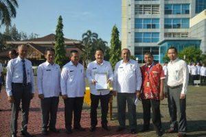 Pj.Wali Kota Bekasi Kukuhkan DKM Masjid Al Amir