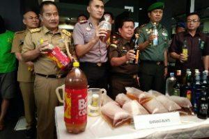 Pj Walikota Ruddy : Peredaran Miras Harus Segera Ditindak