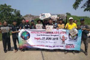 Sosialisasi Pilkada, IWO Kota Bekasi Kunjungi Pemulung