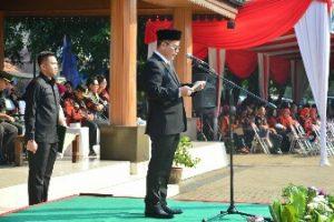 Pj Walikota Bekasi Jadi Pembina Upacara Hari Pendidikan Nasional 2018