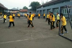 Samsat Kota Bekasi Agendakan Olahraga Rutin Untuk Jaga Stamina