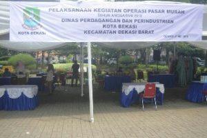 Kurang Koordinasi, Giat 'OPM' Disperindag di Kecamatan Bekasi Barat Sepi