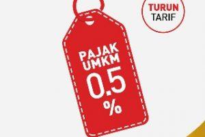 Mulai 1 Juli Tarif Pajak UMKM Jadi 0,5%