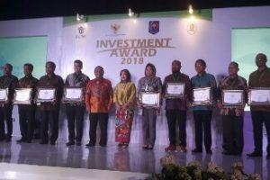 Kota Bekasi Raih Invesment AWARD 2018