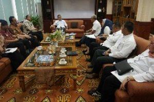 Pj Walikota Terima Tim Ombudsman RI Jakarta Raya