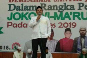 Relawan Muda Jokowi Nyatakan Dukungan Pada Deklarasi Santri Jokowi
