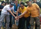 Kader PMII Bekasi Tanam 1000 Pohon di Hutan Kota