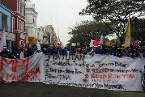 Inilah Tuntutan Demo BEM Sekabupaten Bekasi Di Kantor Bupati
