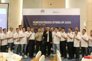30 Pengurus DPC Aptrindo Bekasi Raya Resmi Dilantik