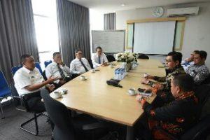 Wakil Wali Kota Bekasi Hadiri Penandatanganan Kesepakatan Bersama antara PDAM Tirta Patriot dengan BNI