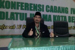 Unggul Mutlak, H. Madinah Resmi Ketuai PCNU Kota Bekasi Priode 2018-2023