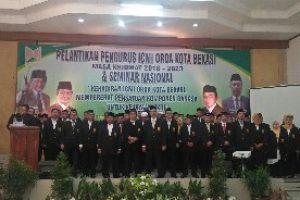 Marhaban Sigalingging Di Lantik Jadi Ketua ICMI ORDA Kota Bekasi