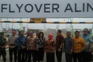 Flyover Alindra resmi dibuka Guna Perlancar akses di kawasan Kota Harapan Indah