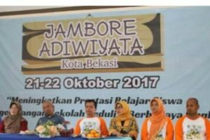 Jambore Adiwiyata Resmi Ditutup Wali Kota Bekasi Rahmat Effendi