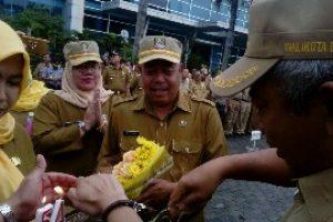 Apel Terakhir dan Apresiasi Rahmat Effendi Kepada PNS Kota Bekasi