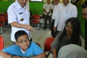 Pj Walikota Cek Kesiapan Verifikasi PPDB Online Kota Bekasi