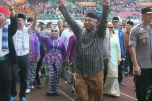 Apel Akbar Sambut Wali Kota Bekasi,45 program kerja Jadi prioritas 5 tahun Kedepan
