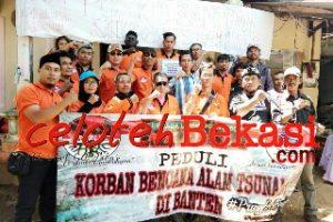 AMPHIBI & YASOS BKS Lakukan Aksi Peduli Bencana Tsunami Banten