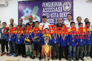 Bangkitkan Kemajuan Sepak Bola, Askot  PSSI kota Bekasi Resmi Dikukuhkan